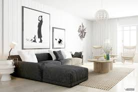 100 Minimalistic Interiors Furniture Black And White For House