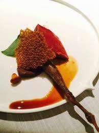 cuisine pigeon pigeon leg picture of jaan singapore tripadvisor