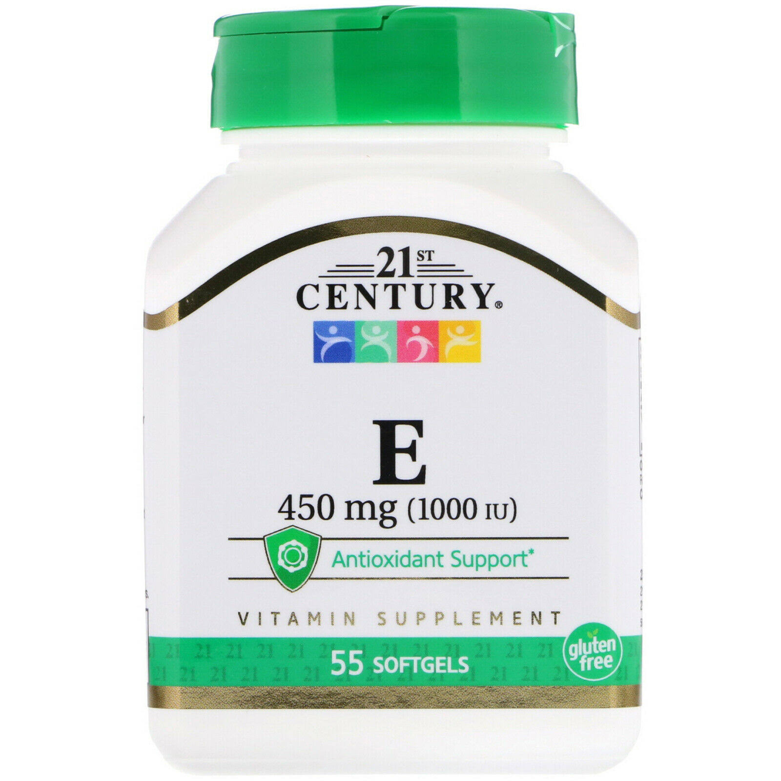 21st Century Health Care E-1000 Supplement - 55 Softgels