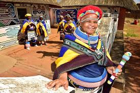 Ndebele Women In Mpumalanga C South African Tourism Flickr