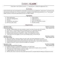 Court Clerk Resume Clerical Skills Data Entry Sample Accounting