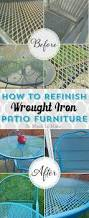 Patio Furniture Replacement Slings Las Vegas by How To Refinish Wrought Iron Patio Furniture Iron Patio