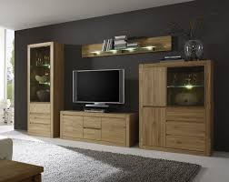 wohnwand eiche bianco teilmassiv woody 35 00210 holz modern