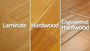 hardwood vs laminate vs engineered hardwood floors what s the