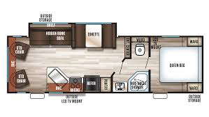 Travel Trailer Floor Plans Rear Kitchen by Grey Wolf Rv New U0026 Used Rvs For Sale All Floorplans