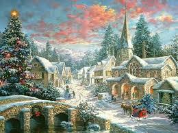 Thomas Kinkade Christmas Tree Cottage by Thomas Kinkade Christmas Paintings Thomas Kinkade Christmas