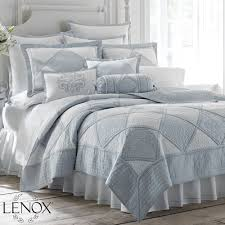 Moonlit Shadows Reversible Blue Quilt Set By Waverly Pics With