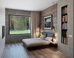 wandnischen gestalten schlafzimmer nische bücherregal