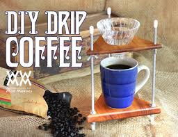 Simple Wood DIY Project Pour Over Coffee Stand