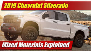 2019 Chevrolet Silverado: Mixed Materials Explained - TestDriven.TV 2019 Chevrolet Silverado 1500 First Look More Models Powertrain 2016 2500hd High Country Diesel Test Review Greenlight 164 Hot Pursuit Series 19 2015 Chevy Tempe Amazoncom Electric Rc Truck 118 Scale Model What A Name Chevys Silverado Realtree Bone Collector Concept 12v Battery Power Rideon Toy Mp3 Headlights 2500 Hd Body Clear Stampede By Proline Pro3357 2000 Ck Pickup The Shed Trucks Ctennial Edition Diecast Rollplay 12 Volt Ride On Black Toysrus 1999 Matchbox Cars Wiki Fandom Powered