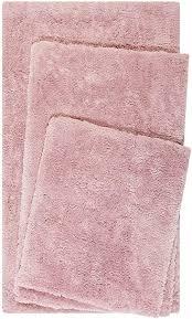 homie living badteppich badematte kuscheliger flauschiger weicher flor l rutschfest und waschbar porto azzurro 60 x 100 cm rosa