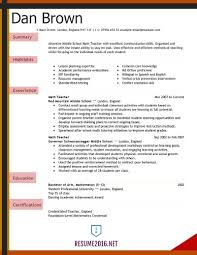 Image 27598 From Post New Teacher Resume Template With Format For Job Pdf Also In