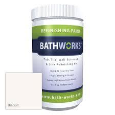 Bathtub Liner Home Depot Canada by Bathworks 22 Oz Diy Bathtub Refinishing Kit With Slip Guard