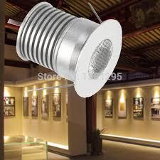 mini led cabinet light led recessed downlight spotlight kit