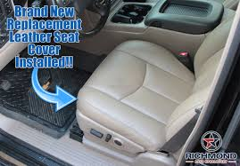 2003-2007 Chevy Silverado LT LS Z71 Leather Seat Cover: Driver ... News Custom Upholstery Options For 731987 Chevy Trucks Seat Covers Inspirational 2015 Silverado Husky Gearbox Under Storage Box S102152 1418 Saddle Blanket Westernstyle Fit Cover For In Leatherette Front Covercraft Ss3437pcch Lvadosierra Ss 42016 3500 1518 Fia Leatherlite Series 1st Row Black Chartt Traditional 072014 Wt Base Work Truck Cloth General Motors 23443852 Rearfitted With