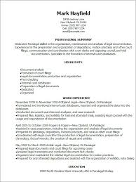 Paralegal Resume Examples 1 Templates Try Them Now MyPerfectResume