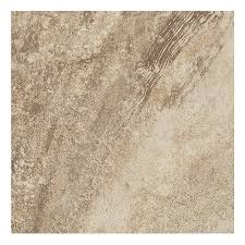 shop style selections mesa beige porcelain floor and wall tile