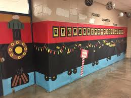 Polar Express Door Decorating Ideas by Ms Arnall U0027s 4th Grade Home