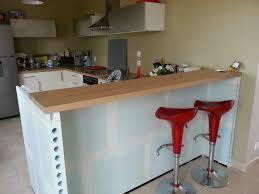 faire une cuisine cuisine en beton cellulaire intéressant comment construire une