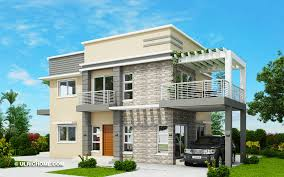 104 Housedesign Modern House Design With Four Bedrooms And Roof Deck Ulric Home