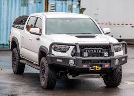 Total Transformation : 2017 Toyota Tacoma TRD Pro - Adventure Ready Tacoma Bumper Shop Toyota Honeybadger Front Warn 2016 Ascent Full Width Black Winch Hd Diy Move Genuine Chrome Hilux Pickup Mk4 Ln165 2015 Vengeance Fab Fours Vpr 4x4 Pd102 Rally Truck Serie 70 Seris 2007 2018 1571 Homemade And Rear Bumperstoyota Youtube Amera Guard End Caps Outdoorsman Bumpers