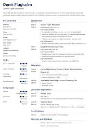 Flight Attendant Resume Sample & Guide [with Skills & More] 9 Flight Attendant Resume Professional Resume List Flight Attendant With Norience Sample Prior For Cover Letter Letters Email Examples Template Iconic Beautiful Unique Work Example And Guide For 2019 Best 10 40 Format Tosyamagdaleneprojectorg No Experience Invoice Skills Writing Tips 98533627018