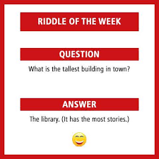 IELS Malta On Twitter ENGLISH RIDDLE OF THE WEEK QUESTION What Is
