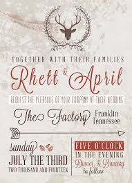 5x7 Rustic Wedding Invite 10 Or Free PSD File