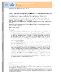 pth normal range uk ethnic differences in parathyroid hormone secretion and mineral