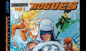 crossover pack 5 the rogues the new expansion for dc comics