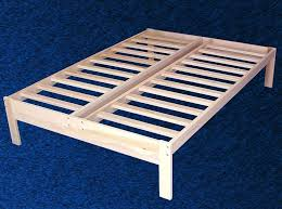 bed frame simple bed frame no headboard 10 easy pieces simple