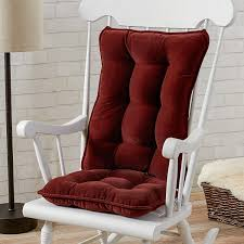 Greendale Home Fashions Standard Rocking Chair Cushion Set, Cherokee Solid,  Wine Rocking Chair Cushions Ebay Patio Rocking Chair Ebay Sears Cushion Sets Klear Vu Polar Universal Greendale Home Fashions Jumbo Cherokee Solid Khaki Diy Upholstered Pad Facingwalls Llc Upc Barcode Upcitemdbcom Spectacular Sales For Standard Microfiber