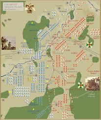 Map Of Battle Borodino 1812