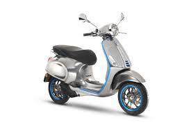 Vespas First Electric Scooter Is Coming In 2018 With 62 Miles Of