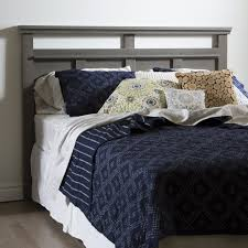 White King Headboard Wood by Grey Wood Headboard Including Ana White Rustic Diy Collection