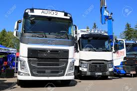 PORVOO, FINLAND - JUNE 28, 2014: Volvo Trucks Displayed Their ... Volvo Trucks 2014 Totjueto Film Intertional 4300 Box Truck For Sale 155866 Miles Freightliner Scadia For Sale 2719 Motor Trend Of The Year Contenders Report Tata Motors To Enter Thai Truck Market This Year Used Peterbilt 579 Mhc Sales I0380787 Best And Suvs For Towing Hauling Bangshiftcom Sema Daf Xf 105 Series Adtrans Trucks Pickup Gas Mileage Ford Vs Chevy Ram Whos The Lifted Renault Trucksd Box Price 39792 Sale