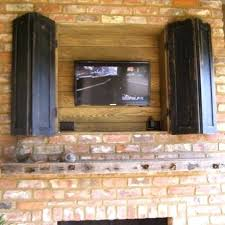 How To Build An Outdoor Tv Cabinet How To Build An Outdoor