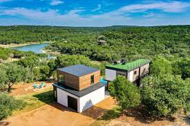 104 Shipping Container Homes In Texas Buildings Lago Vista 3 Bedroom Home