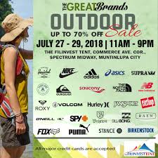 100 Outdoor Brands Manila Shopper The Great SALE July 2018