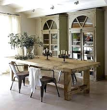 Reclaimed Wood Dining Room Table With Bench Tables Astounding Rustic Kitchen Long For Sale Online House