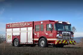 100 Heavy Rescue Trucks El Dorado Fire District 1050 SVI