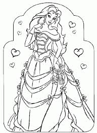 Cool Coloring Printable Pages Disney Princess For Of Princesses