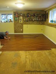 Shaw Versalock Laminate Wood Flooring by Flooring Installing Vinyl Planklooring Over Concrete Plywood
