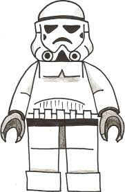 Trooper Coloring Pages Printable In Stormtrooper