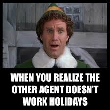 When You Realize The Other Agent Doesnt Work Holidays Active Agents Use