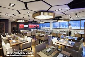 acoustic ceiling tiles and panels for restaurant and coffee shop