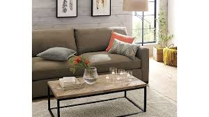Crate And Barrel Axis Sofa by Dixon Coffee Table Crate And Barrel