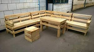 Deck Furniture Set Recycled Pallet Outdoor L Shape Sofa Patio Sets Clearance Sale Home Depot