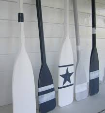 Decorative Oars And Paddles by Nautical But Nice Coastal Decor Pinterest Beach House Decor