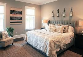 Pottery Barn Bedding Bedroom Ideas Gray Paint Color GrayBedroom GrayPaintColor Amy Tyndall